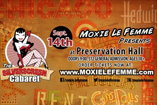 Moxie Gets Musical with the Silverscreen Cabaret!
