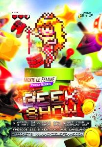 Geek Show Event Flyer